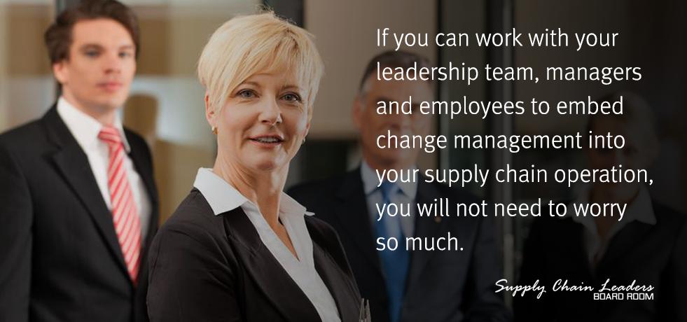Executives for Change Management